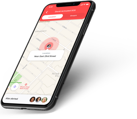 Track your position in real time
